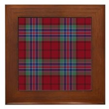 Tartan - MacRae of Ardentoul Framed Tile