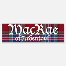 Tartan - MacRae of Ardentoul Sticker (Bumper)