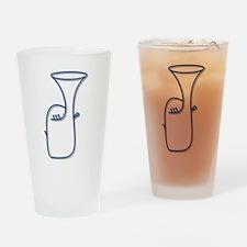 Euphonium Drinking Glass