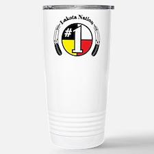 #1 Lakota Nation Stainless Steel Travel Mug