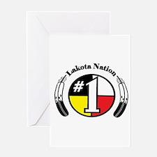 #1 Lakota Nation Greeting Card
