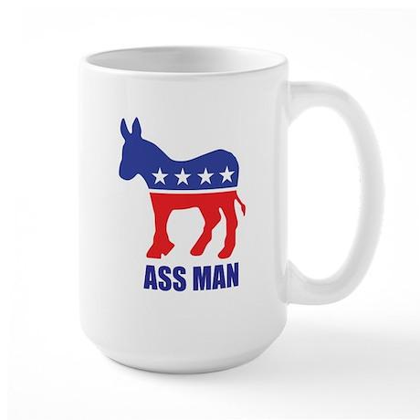 Ass Man Large Mug