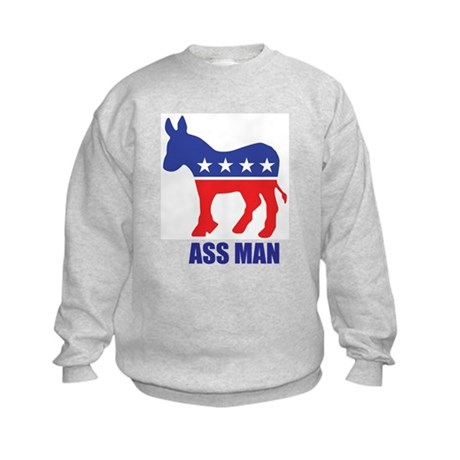 Ass Man Kids Sweatshirt
