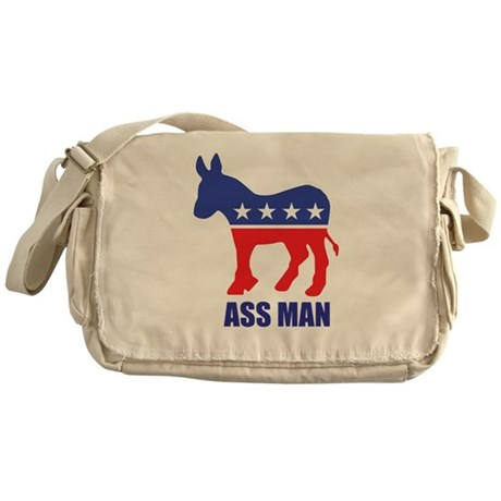 Ass Man Messenger Bag