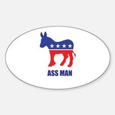 Ass Man Decal