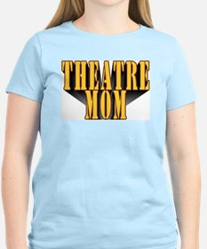 Theatre Mom Women's Pink T-Shirt