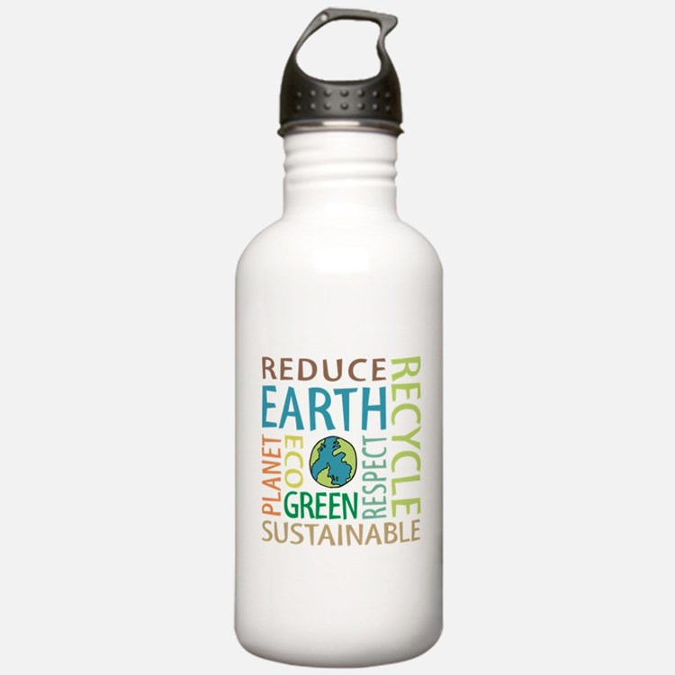 Earth Day Water Bottle
