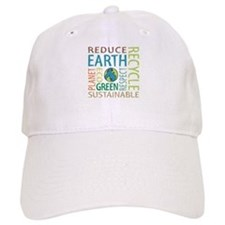 Earth Day Baseball Baseball Cap
