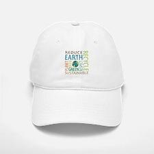 Earth Day Baseball Baseball Cap