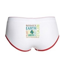 Earth Day Women's Boy Brief