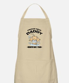 Personalize Proud New Daddy Apron