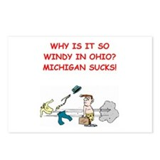 i hate michigan Postcards (Package of 8)
