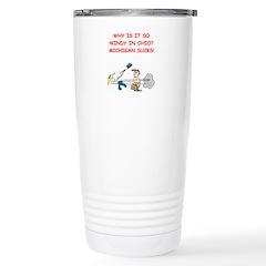 i hate michigan Travel Mug