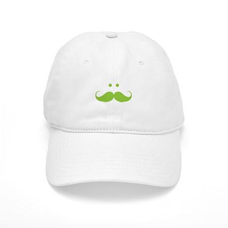 Moustache face Cap