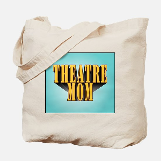 Theatre Mom Tote Bag with matching Back