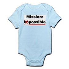 Mission Possible Infant Creeper