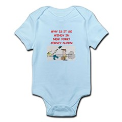i hate new york Infant Bodysuit