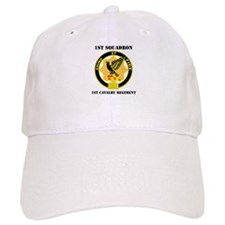DUI - 1st Sqdrn - 1st Cav Regt with Text Baseball Cap