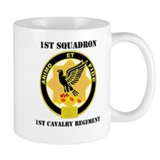 DUI - 1st Sqdrn - 1st Cav Regt with Text Mug