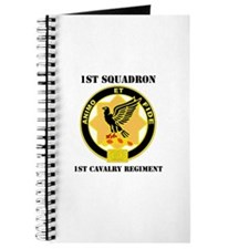 DUI - 1st Sqdrn - 1st Cav Regt with Text Journal