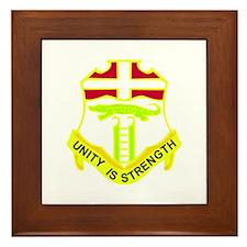 DUI - 1st Bn - 6th Infantry Regt Framed Tile