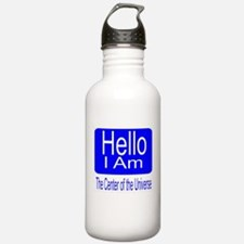center of universe Water Bottle