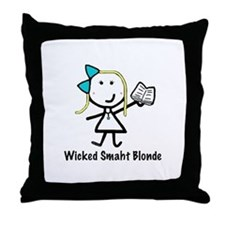 Book - Wicked Smaht Throw Pillow