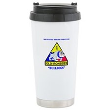 DUI - 3rd Infantry BCT with Text Travel Mug