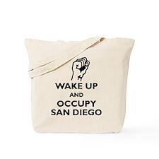 Occupy San Diego Tote Bag