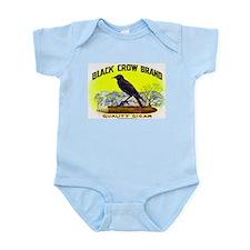 Black Crow Cigar Label Infant Bodysuit