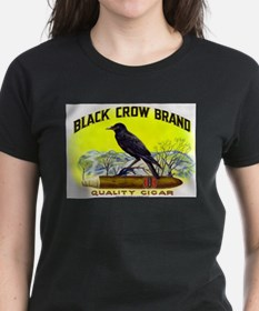 Black Crow Cigar Label Tee