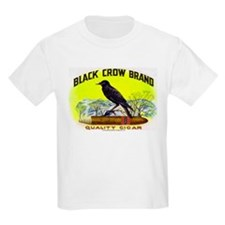 Black Crow Cigar Label T-Shirt