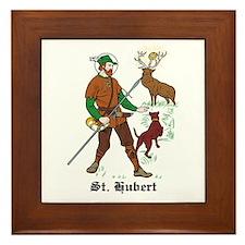 St. Hubert Framed Tile