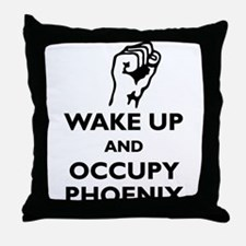 Occupy Phoenix Throw Pillow