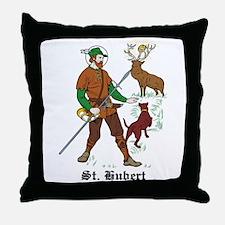 St. Hubert Throw Pillow