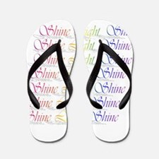 Shine Light Shine Flip Flops