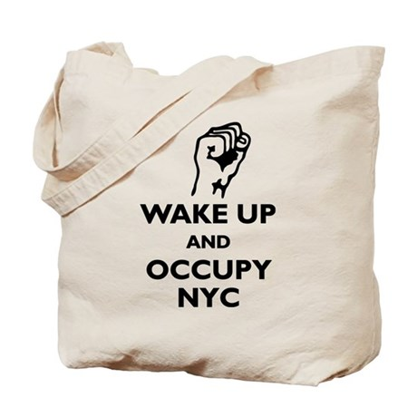 Occupy NYC Tote Bag