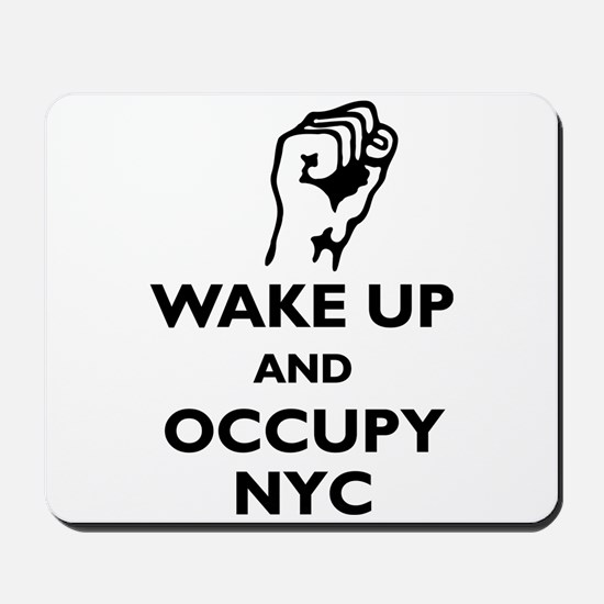 Occupy NYC Mousepad