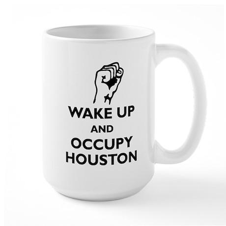 Occupy Houston Large Mug