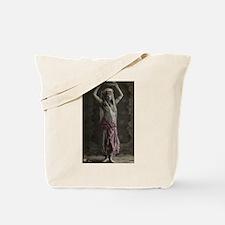 Vintage Tribal Bellydance Gir Tote Bag