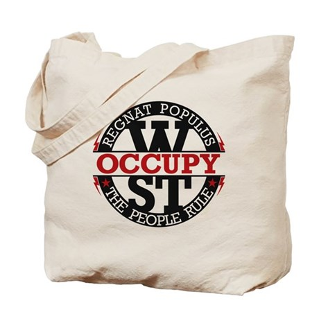 Occupy Wall Street People Rule Tote Bag