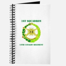 DUI - 1st Sqdrn - 13th Cav Regt with Text Journal