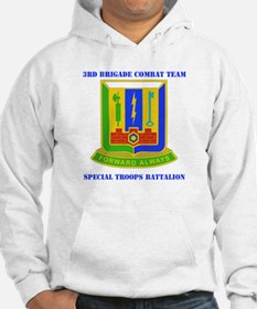 DUI - 3rd BCT - Special Troops Bn with Text Hoodie