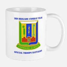 DUI - 3rd BCT - Special Troops Bn with Text Mug