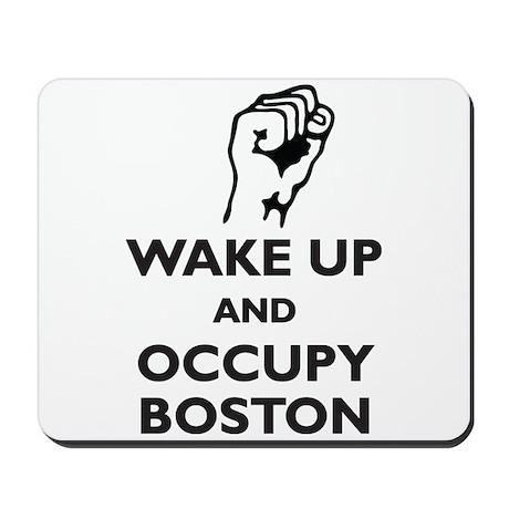 Occupy Boston Mousepad