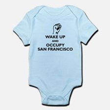Occupy San Francisco Infant Bodysuit