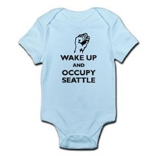 Occupy Seattle Infant Bodysuit