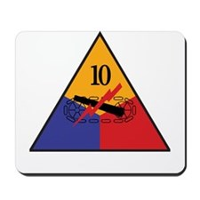 10th Armored Division Shirts Mousepad