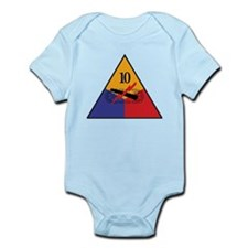 10th Armored Division Shirts Infant Bodysuit