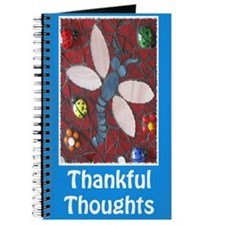 Thankful Thoughts Dragonfly Journal